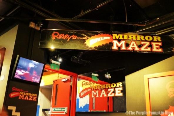 Ripley's Mirror Maze London