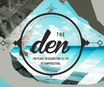 The Den at Camp Bestival