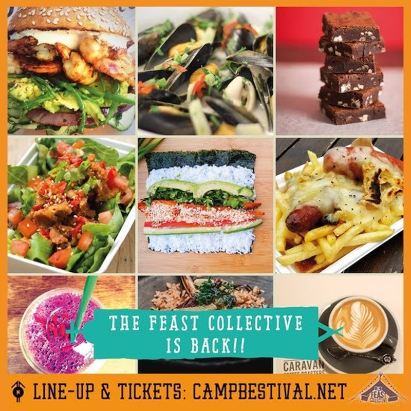 The Feast Collective at Camp Bestival 2015