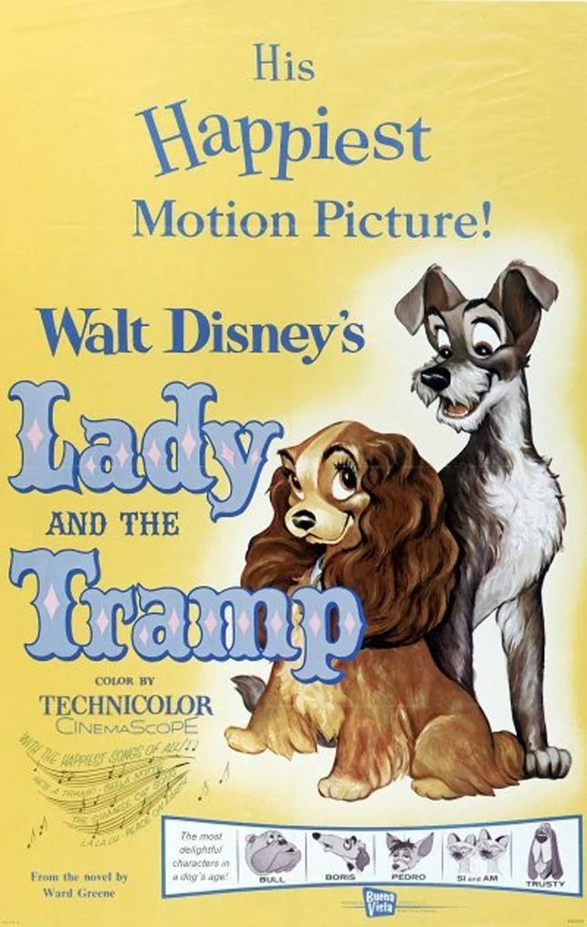 Lady and the Tramp - Disney Movie Poster
