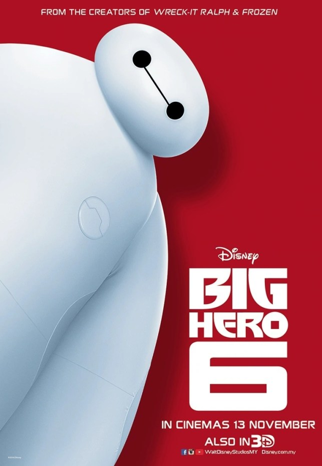 Big Hero 6 - Disney Movie Poster