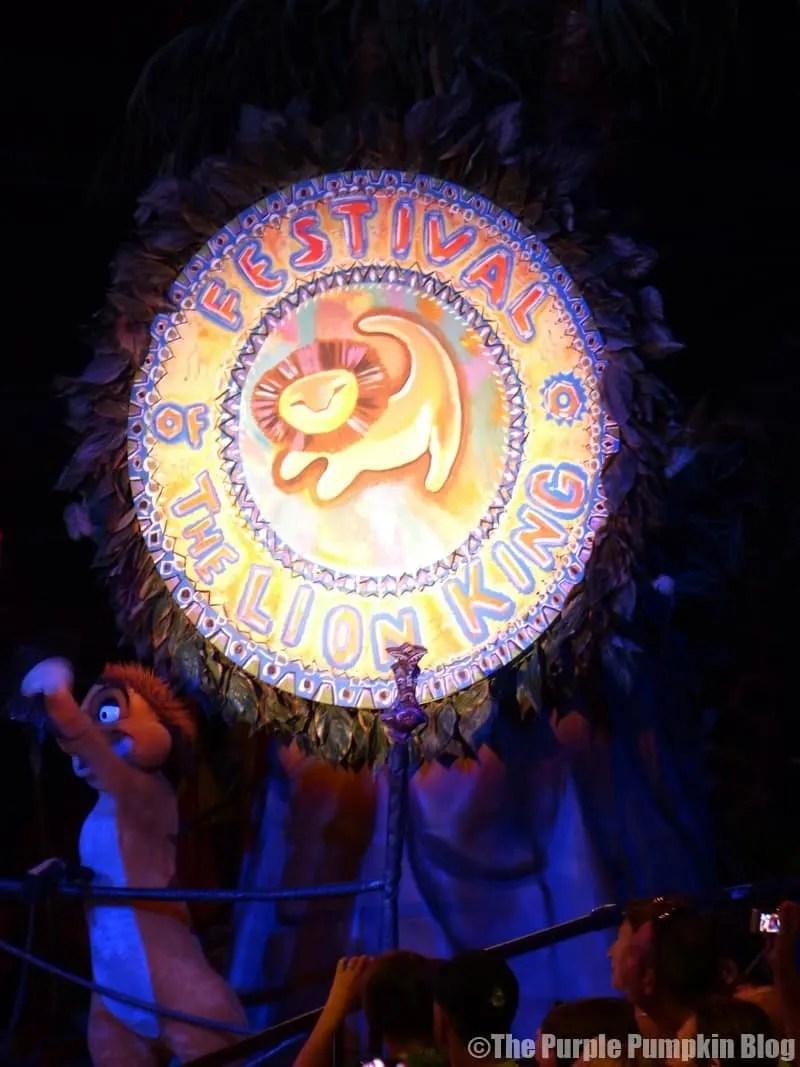 Animal Kingdom - Festival of the Lion King