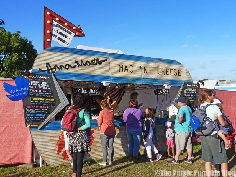Anna Mae's Mac'n' Cheese at Camp Bestival