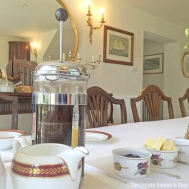 Breakfast at The Duchy Rag House B&B, Wiltshire