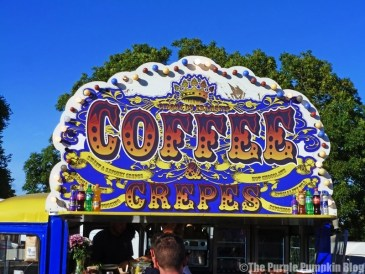 Coffee & Crepes at Camp Bestival