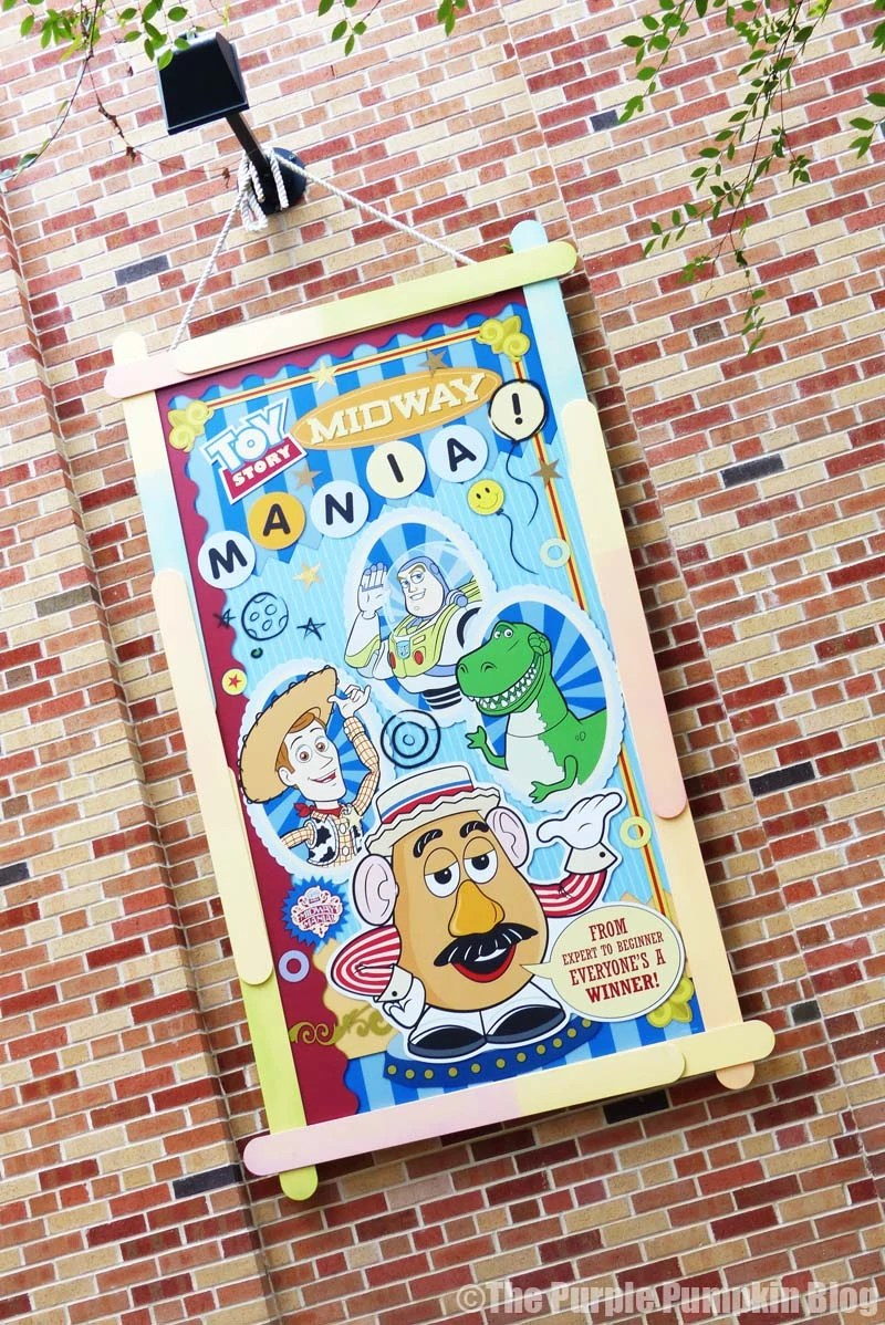 Disney Alphabet T - Toy Story Midway Mania