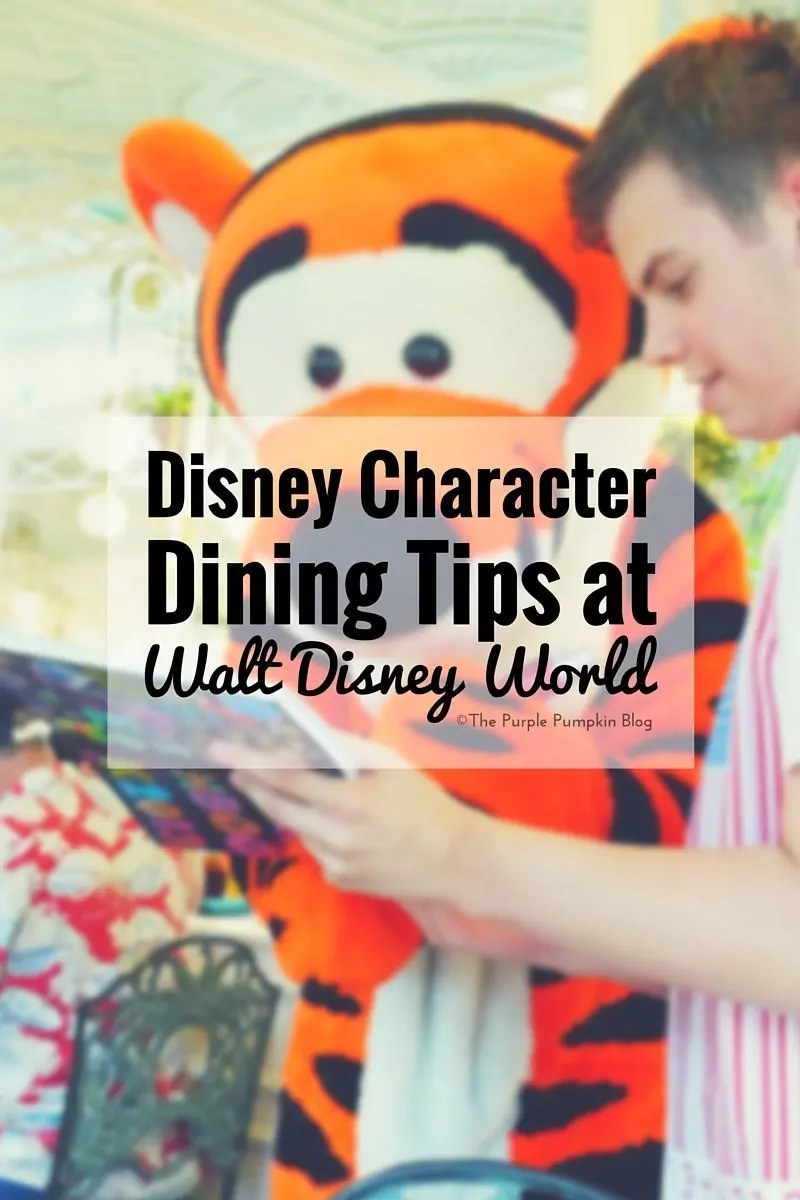 Disney Character Dining Tips at Walt Disney World