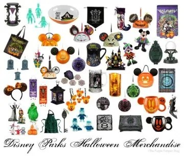 Disney Parks Halloween Merchandise