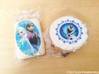 Disney Snacks - Frozen Rice Krispie Treats