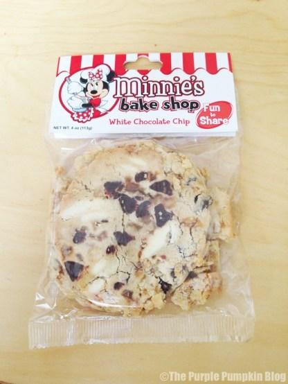 Disney Snacks - Minnie's White Chocolate Cookie