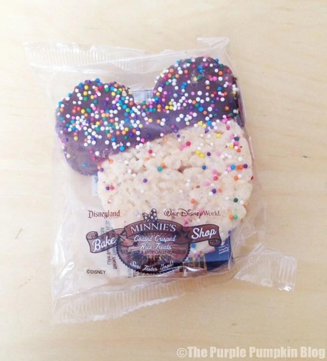 Disney Snacks - Mickey Rice Krispie Treat