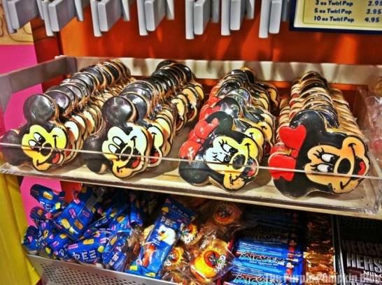 Disney Snacks - Character Cookies