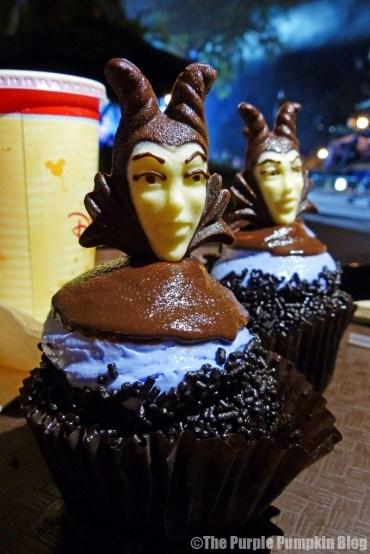 Disney Snacks - Maleficent Cupcake