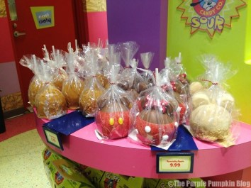 Disney Snacks - Mickey Candy Apples