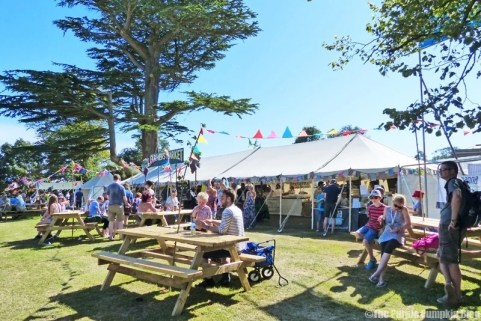 Farmers Market at Camp Bestival