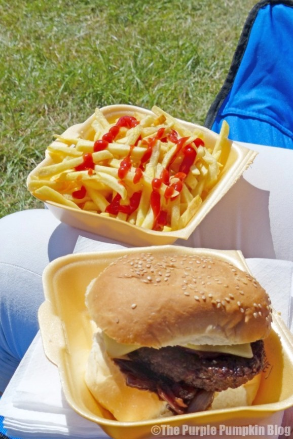 Meatcure Burger Shed at Camp Bestival