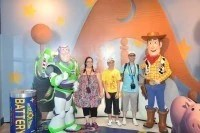 Meeting Buzz and Woody at Hollywood Studios