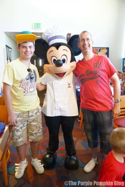 Meeting Chef Mickey at Disney Contemporary Resort