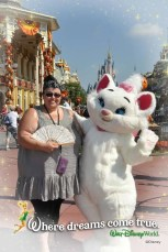 Meeting Marie at Magic Kingdom