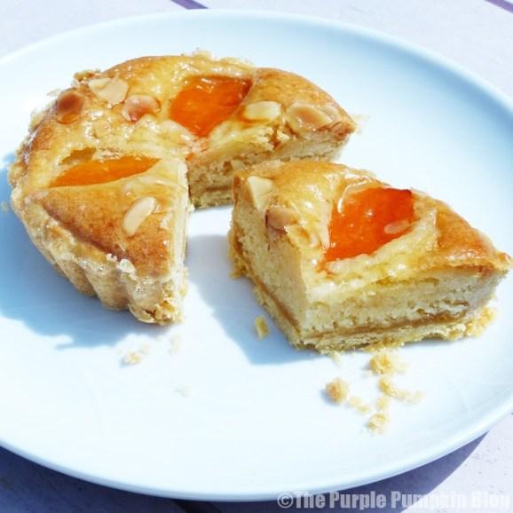 Okemoor - Apricot + Almond Tart
