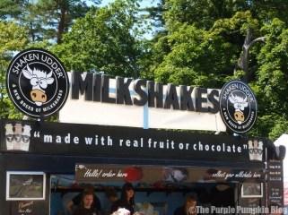 Shaken Udder Milkshakes at Camp Bestival