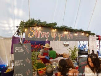 Shrimp Up Your Life at Camp Bestival
