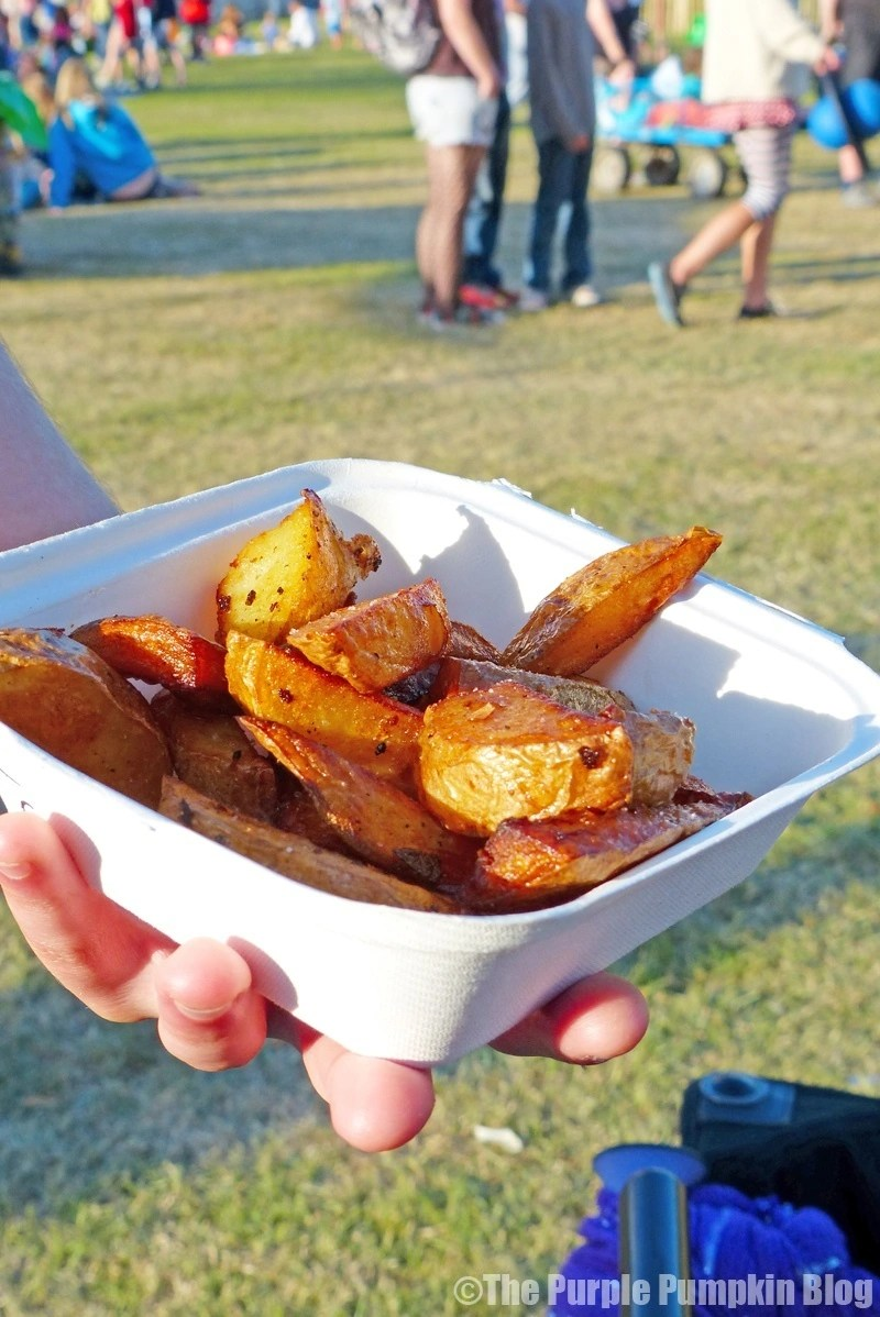 Potato Wedges - The Feast Collective at Camp Bestival