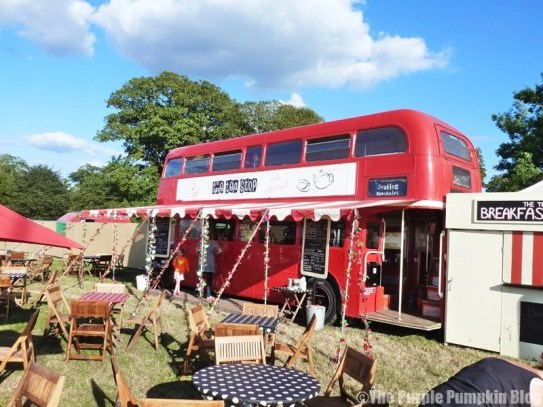 The Tea Stop at Camp Bestival