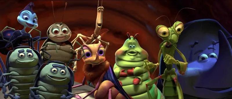 a bugs life circus bugs
