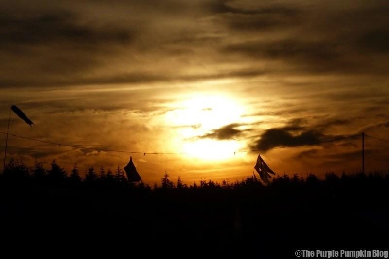 Sunset - Camp Bestival