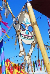 Day of the Dead Cocktail Bus - Camp Bestival