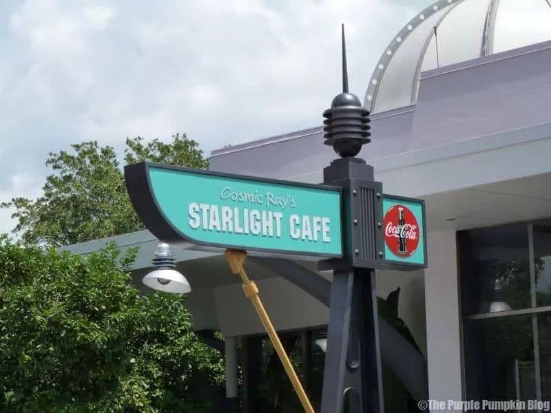 Cosmic Rays Starlight Cafe - Magic Kingdom