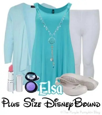 Elsa - Plus Size DisneyBound