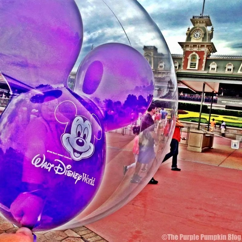 Mickey Balloon at Magic Kingdom