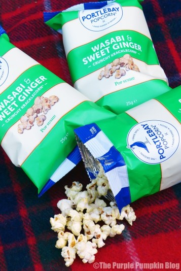 Portlebay Popcorn - Wasabi and Sweet Ginger