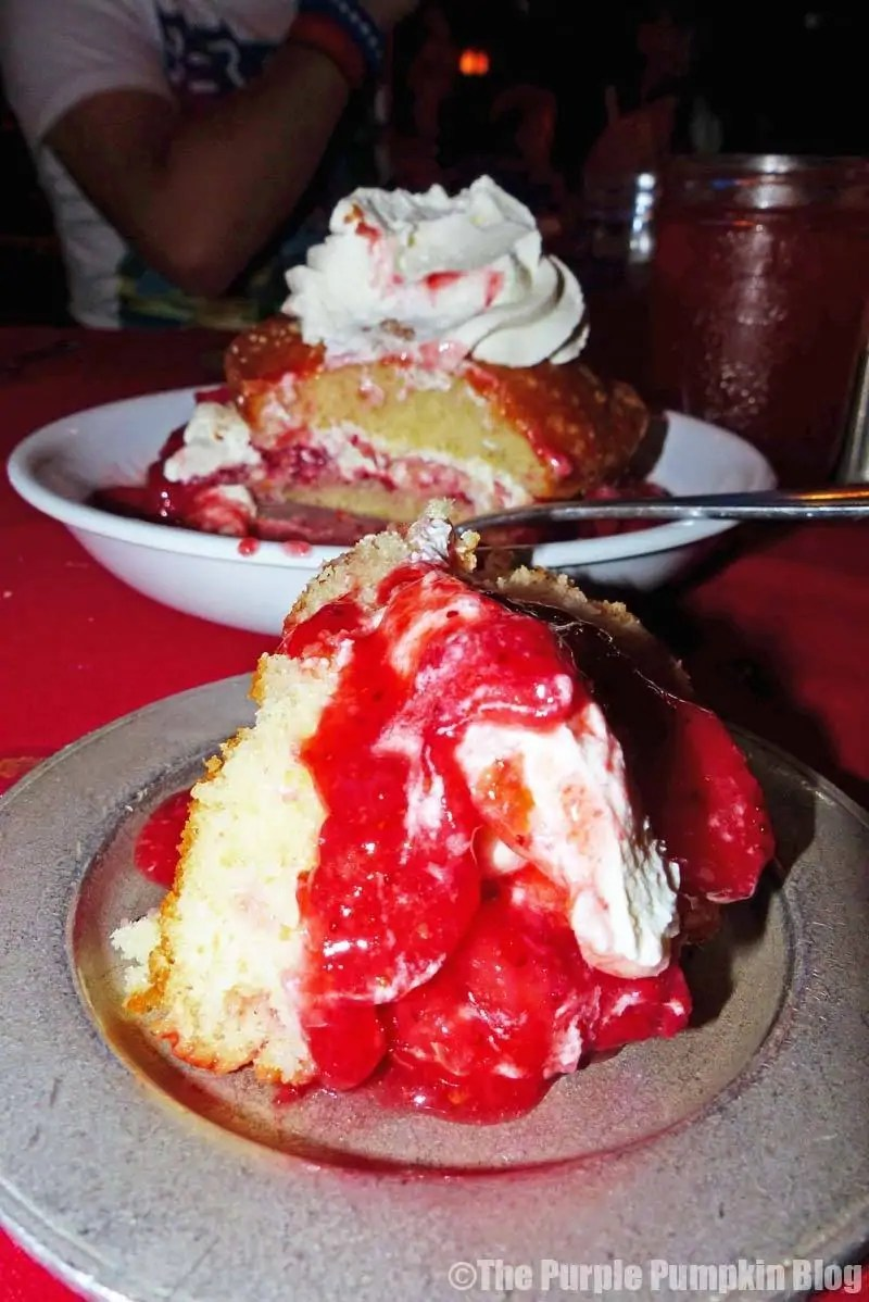 Strawberry Shortcake at Hoop-Dee-Doo Revue
