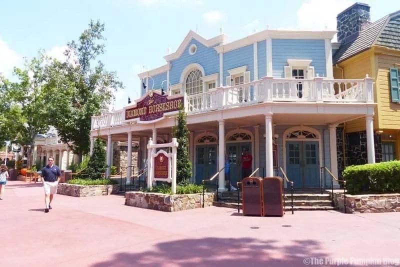 The Diamond Horseshoe - Magic Kingdom