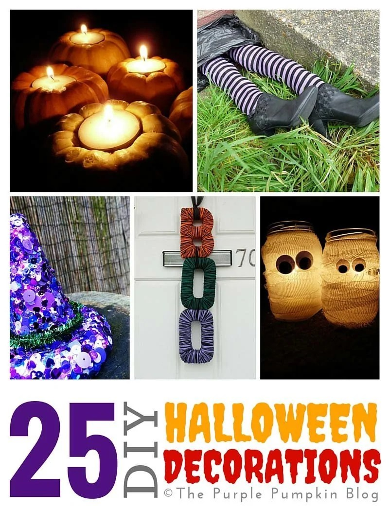 25 DIY Halloween Decorations