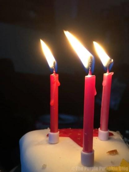 Birthday Cake Candles