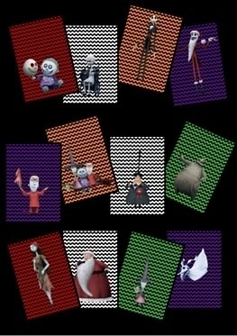 Character Banners - The Nightmare Before Christmas