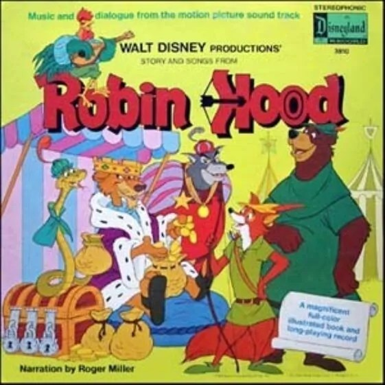 Disney Robin Hood Soundtrack