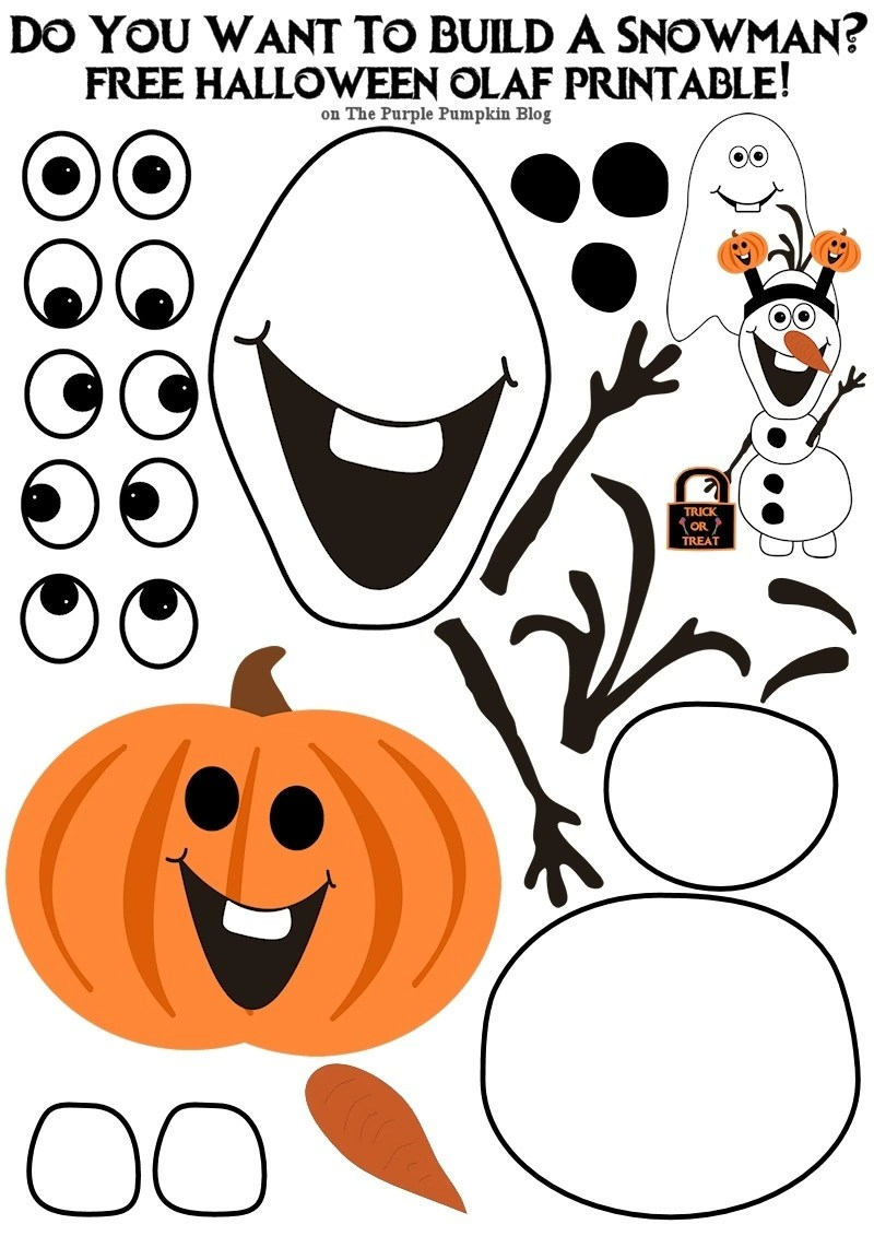 Do You Want To Build An Olaf Halloween Edition
