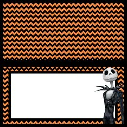 Food Labels - The Nightmare Before Christmas - Free Printables - Jack Skellington