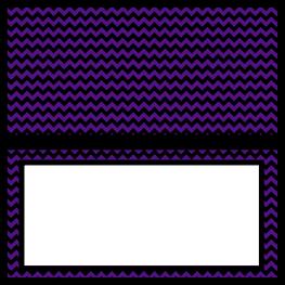 Food Labels - The Nightmare Before Christmas - Free Printables - Purple