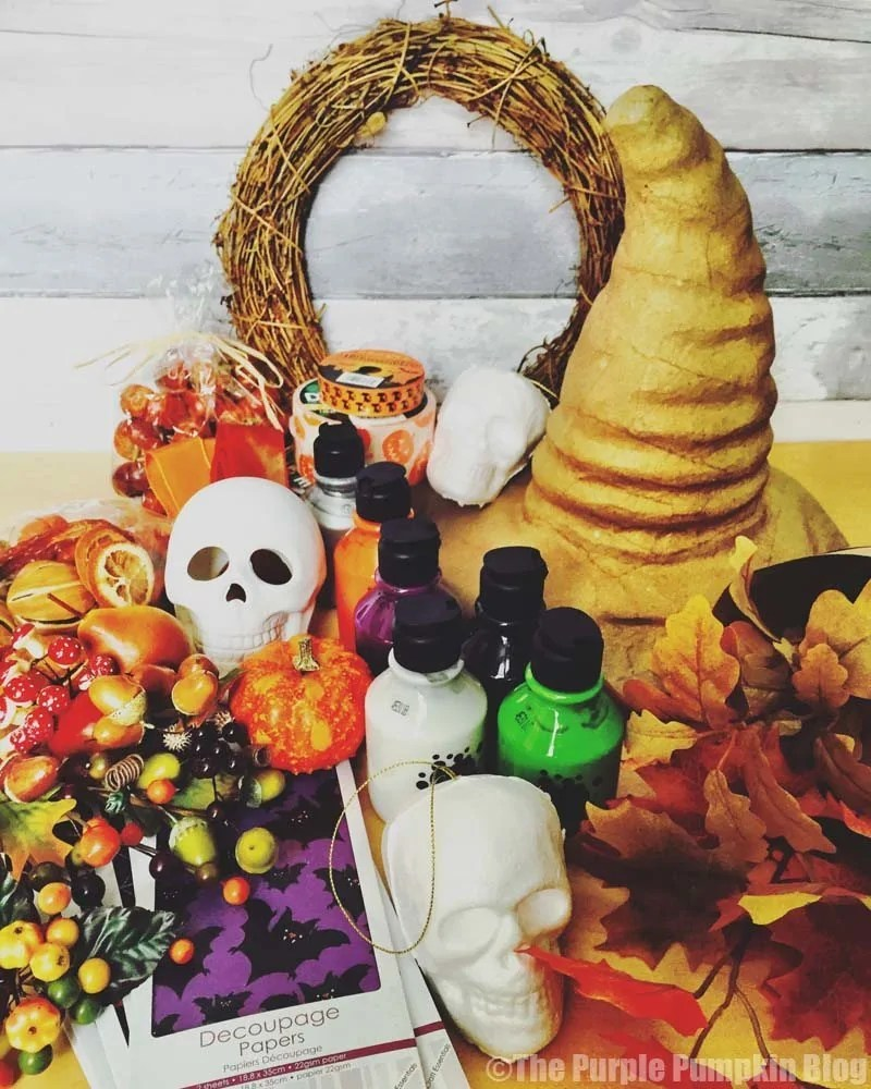 Halloween + Autumn Crafts Supply