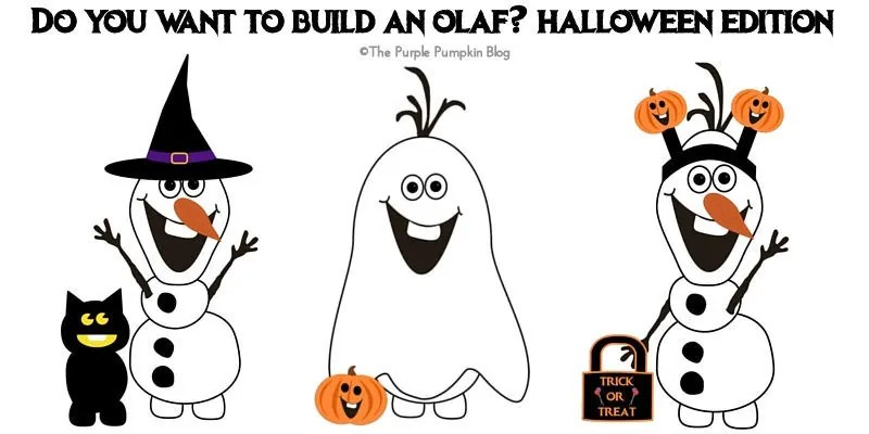 Do You Want To Build An Olaf? Halloween Edition!