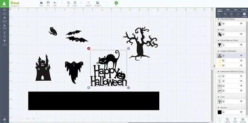 Halloween Vinyl on Cricut Explore
