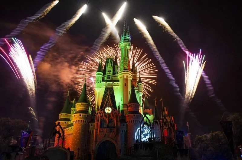 """Happy HalloWishes"" Fireworks at the Magic Kingdom"