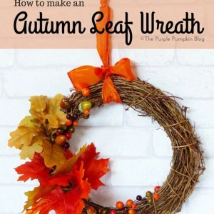 How To Make An Autumn Leaf Wreath