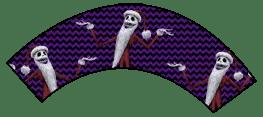 Nightmare Before Christmas - Jack Skellington Santa - Halloween Wrappers